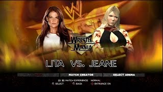 preview picture of video 'WWE 2K14 CAW Montage - 46  Jeane (No More Heroes)'