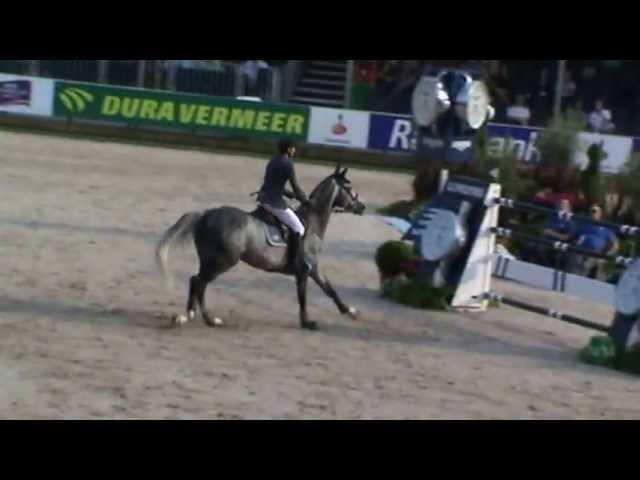 Mother Half-sister Grand Prix horse Taran de la Pomme, rider Kevin Staut.
