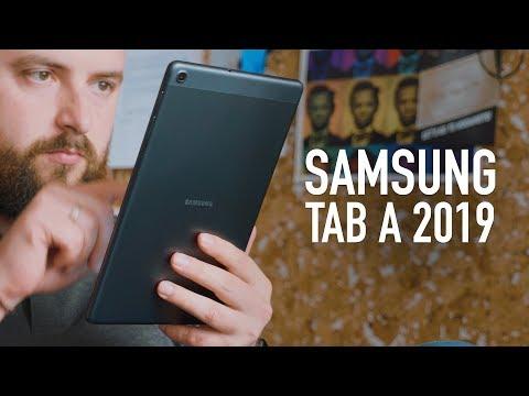 Планшет Samsung Galaxy Tab A 8.0 SM-T295 32Gb серебристый - Видео