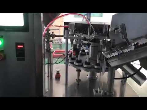 W-VFFS160 auto aluminium tube fill folding seal machine