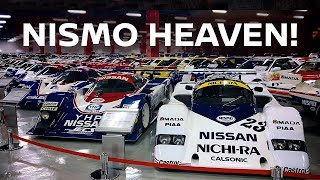 Go inside the HUGE Private Nissan Heritage Museum! | Kholo.pk