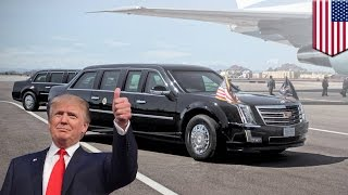 President Trump's car: new 'Cadillac One' to be rolled out for the Donald's inauguration - TomoNews