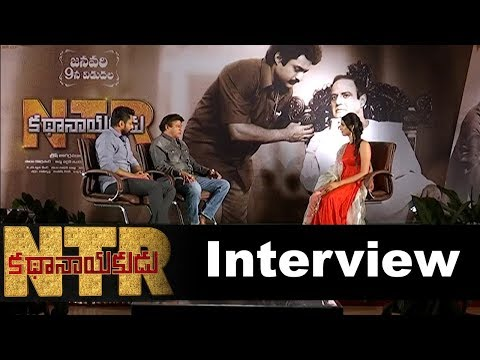 ntr-kathanayakudu-movie-team-interview