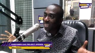 EKOSIISEN ONE ON ONE WITH ERNEST OWUSU BEMPEH ON KARPOWER GAS PROJECT OPEN (10-12-19)