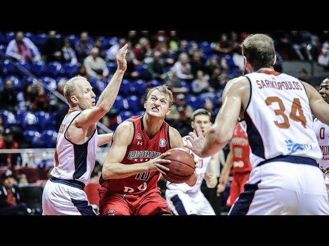 Lokomotiv-Kuban vs Tsmoki-Minsk Highlights Dec 16, 2018