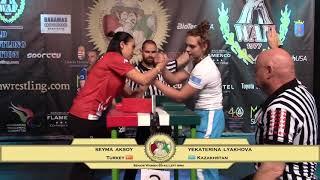 Senior Women -65 Kg LEFT - Qualification - World Armwrestling Championship 2017