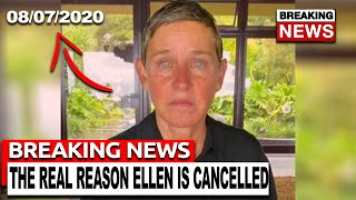 The REAL Reason Ellen Degeneres Is Cancelled...