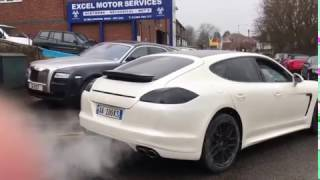 Porsche Panamera S Amazing V8 Exhaust Sound & Review