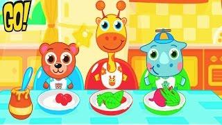Детский сад c Животными Развивающие игры для детей обучающий игровой Мультфильм