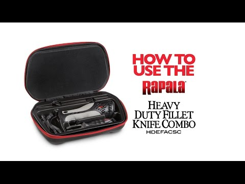 Rapala® Heavy-Duty Electric Fillet Knife Combo