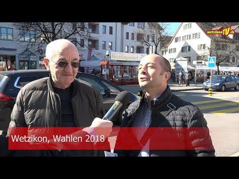 Wetzikon, Wahlen 2018
