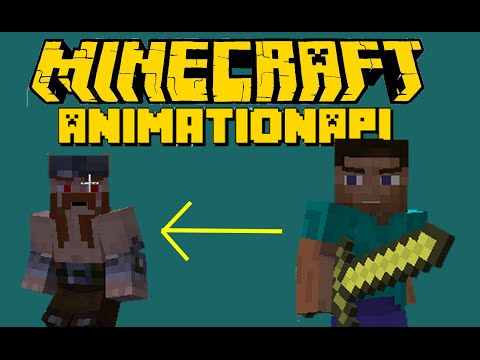 Minecraft how to add your skin to AnimationAPI mod (simple and easy) Tutorial