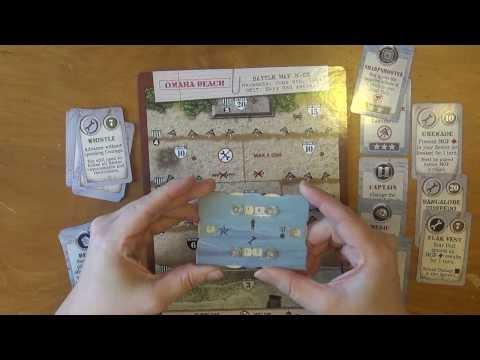 D-Day Dice Solo Play Through - Omaha Beach - Part 3