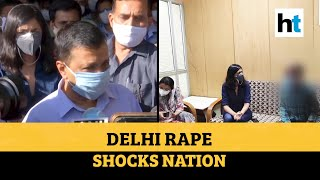 Delhi: 12-yr-old raped, in critical condition; Kejriwal meets victim family