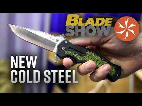 New Cold Steel Knives at BLADE Show 2019: Knife Center