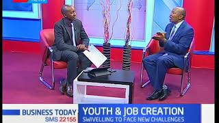 Business Today - 23rd April 2018 - Discussion on Youth and Job Creation
