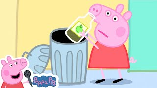 Recycling with Peppa Pig Song | Peppa Pig Songs | Peppa Pig Nursery Rhymes & Kids Songs