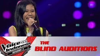 """Rachel """"Impossible""""   The Blind Auditions   The Voice Kids Indonesia Season 2 GlobalTV 2017"""