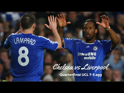 Chelsea FC vs Liverpool FC || 2008/2009 (7-5 agg) UCL Quarterfinal || HD