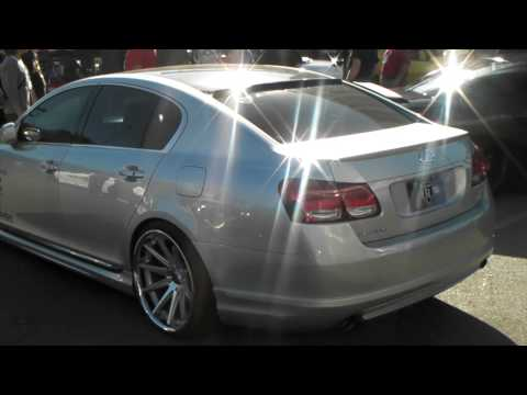 DUBSandTIRES.com lowered Lexus GS 300 Asanti Forgiato TSW Wheels Rims