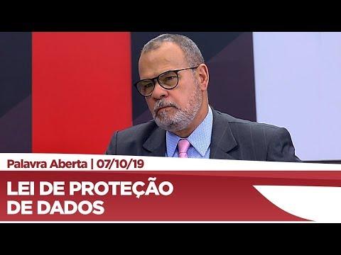 Jorge Braz comenta Lei Geral de Proteção de Dados