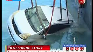 Likoni Recovery: Car, bodies of Mother and daughter that plunged into ocean retrieved