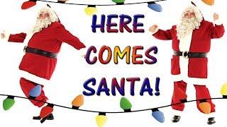 🎅 HERE COMES SANTA CLAUS 🌲DANCING SANTA IS COMING TO TOWN  (MERRY CHRISTMAS )HO HO HO🌲