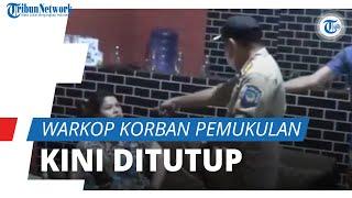 Warkop Milik Pasutri Korban Penganiayaan Oknum Satpol PP Ditutup, Dituding Serobot Lahan Negara