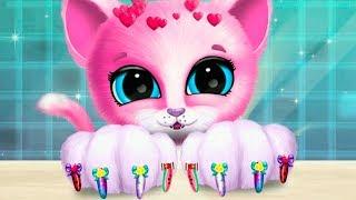 Кошечка КИКИ Салон МАНИКЮР и ПРИЧЕСКА челлендж Мультик Мой маленький котенок и щенок Игра для детей