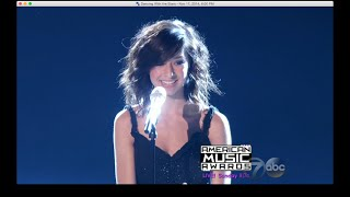Christina Grimmie - Dancing With the Stars 11-17-2014