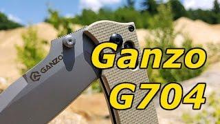 Ganzo G704 - Y Folding Knife: Great EDC Folder