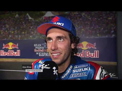 Team Suzuki Ecstar prepare for the SHARK Helmets Grand Prix de France