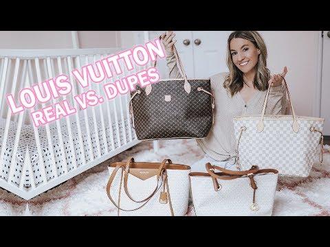 Louis Vuitton Neverfull Review & Louis Vuitton Dupes