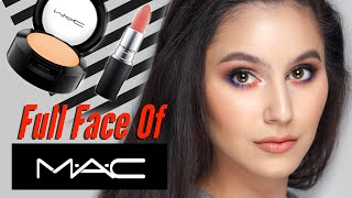 Full Face Of MAC Feat. Old School MAC Eyeshadows 🙏🏻 Karima McKimmie
