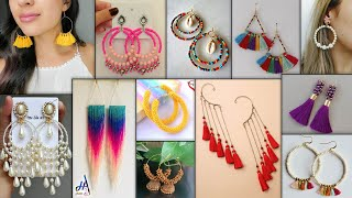 12 Fashion Earrings For Girls DIY - Regular & PartyWear - Suitable On Gown Dresses,JeansTop & Kurtis