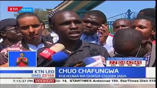 Kimya yatambaa chuo kikuu cha Nairobi baada ya wanafunzi kurudi nyumbani kutokana na ghasia