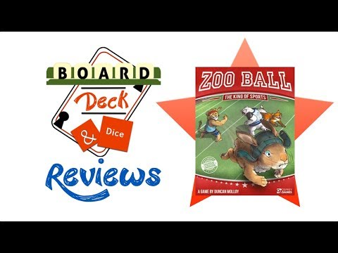 Board, Deck & Dice Review #99 - Zoo Ball