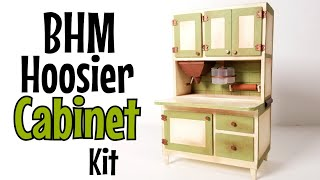 Miniature Hoosier Cabinet - Using A Bentley House Kit