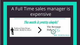 The Reason you should use The Revenue Hub for your Sales Management needs