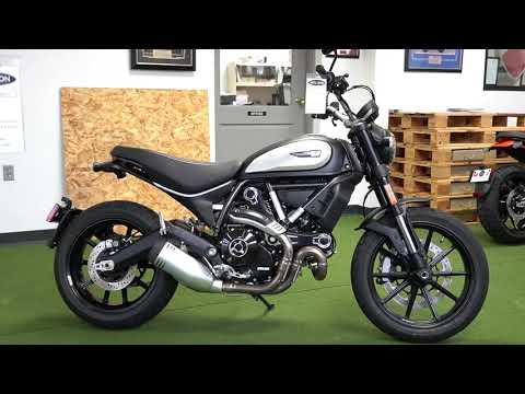 2020 Ducati Scrambler Icon Dark in West Allis, Wisconsin - Video 1