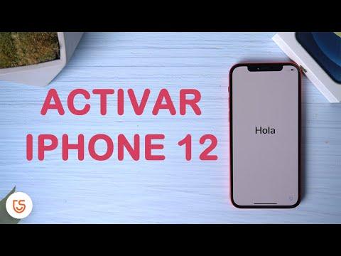 activar y configurar iphone 12