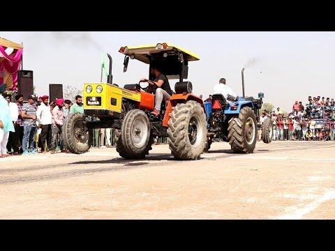 Full End Tractor Tochan HMT 5911 vs Fauji Sonalika DI 55