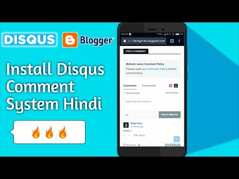 Download How To Install Disqus Comment System In Blogger