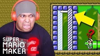 IF YOU DO THIS AGAIN I'M QUITTING YOUTUBE!! [SUPER MARIO MAKER 2] [#18]