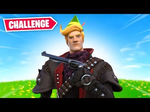 The COWBOY Challenge In Fortnite! 🤠