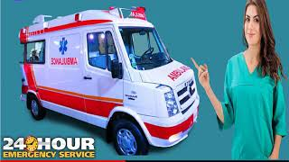 Road Ambulance in Ranchi and Tatanagar for Patient Transfer Solution
