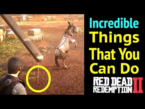 Interesting Things You Can Do in Red Dead Redemption 2 (RDR2)