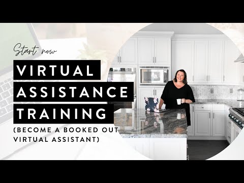 Virtual Assistant Training (FREE!) - YouTube