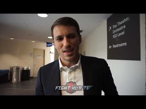 """BIVOL MANAGER """"WE WERE TRYING TO GET CANELO FIGHT! KOVALEV DIMINISHING!"""""""