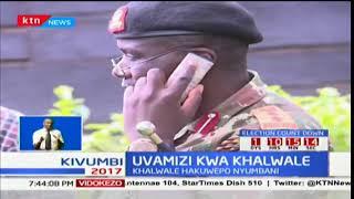 Polisi wavamia nyumba ya aliyekuwa seneta wa Kakamega Boni Khalwale